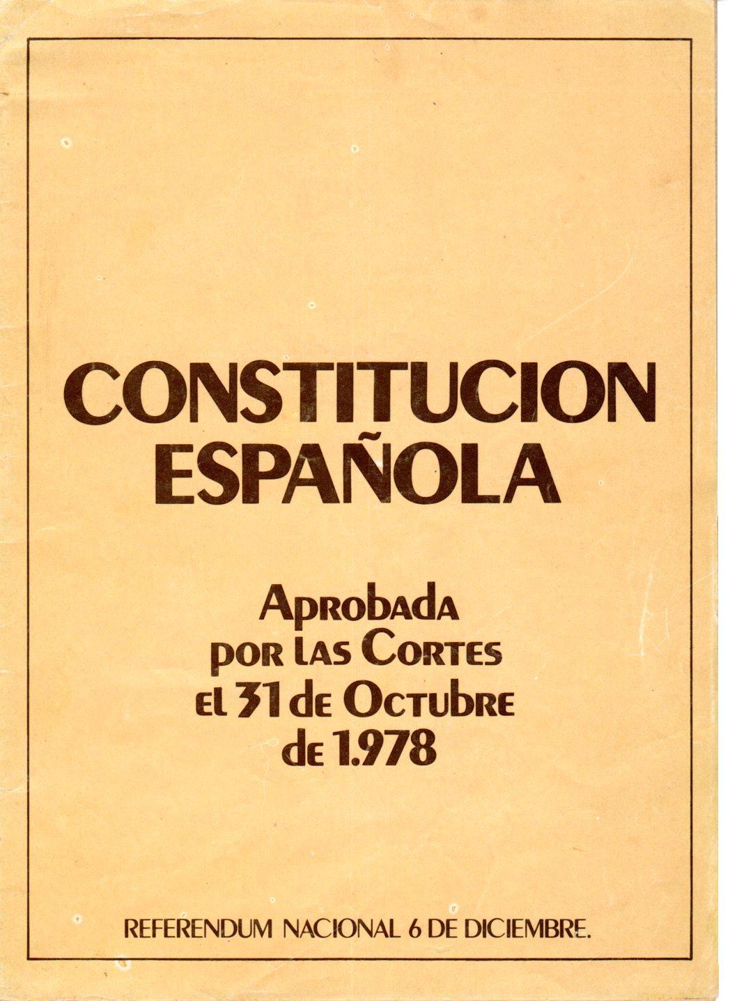 Resultado de imagen de constitucion de 1978